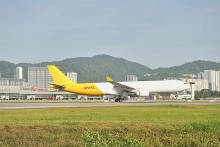 dhl express launches inaugural passenger to freighter a330 300