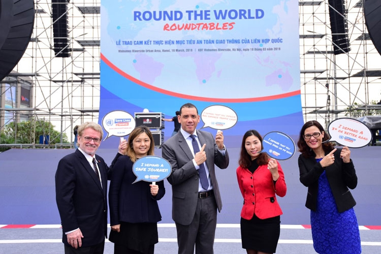 vietnam commits to united nations road crash prevention goals at round the world roundtable