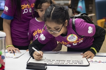 learning at home with girls4tech connect