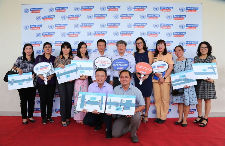 fedex and aip foundationsafe kids vietnam celebrate un global road safety week 2019