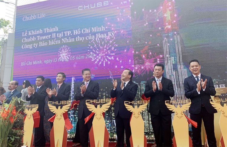 chubb life in vietnam inaugurates chubb tower ii in ho chi minh city