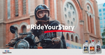 mobil super moto enhances vietnamese modern lifestyles through daily stories of their own