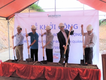 heineken vietnam continues to support a clean water project in quang nam