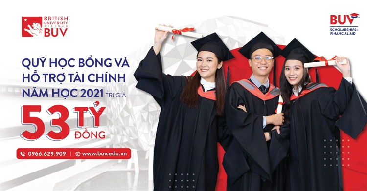 british university vietnam increases the value of scholarship and financial support fund to 53 billion vnd