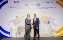 asia commercial joint stock bank and sun life vietnam announce a 15 year exclusive bancassurance partnership in vietnam