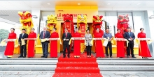 dhl express opening the largest service center in hanoi