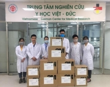 germany and vietnam continue to fight together against corona virus