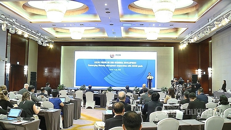 converging mekong sub regional cooperation with asean goals