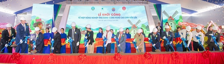 work starts on the dak lak dhn high tech agricultural complex