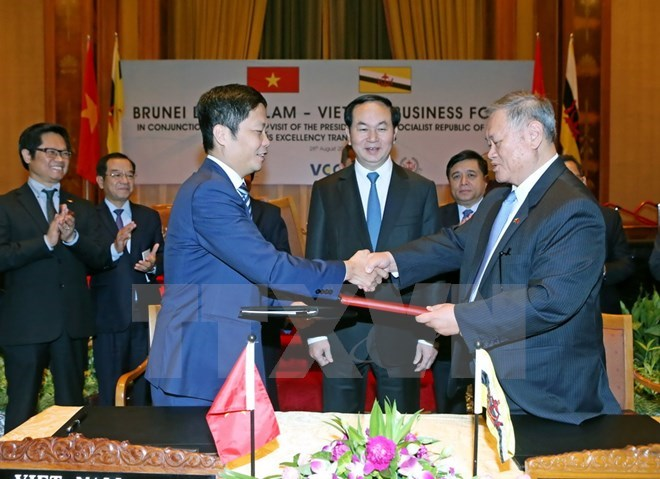 vietnam brunei develop trade relations