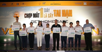 3000 members of the cai mep port community attend get home safe festival