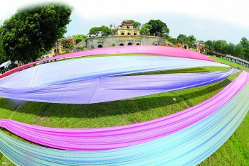 traditional silk making emerges from its cocoon