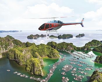 northern vietnam helicopter company flying high