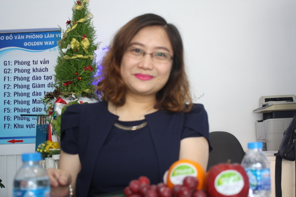 mary duong who enjoys the fruit of her labors