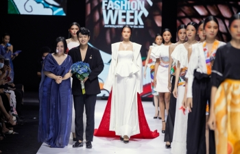 vietnamese fashion industry graces global catwalks