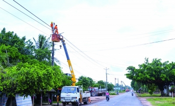 electricity sector helps ha nam province development