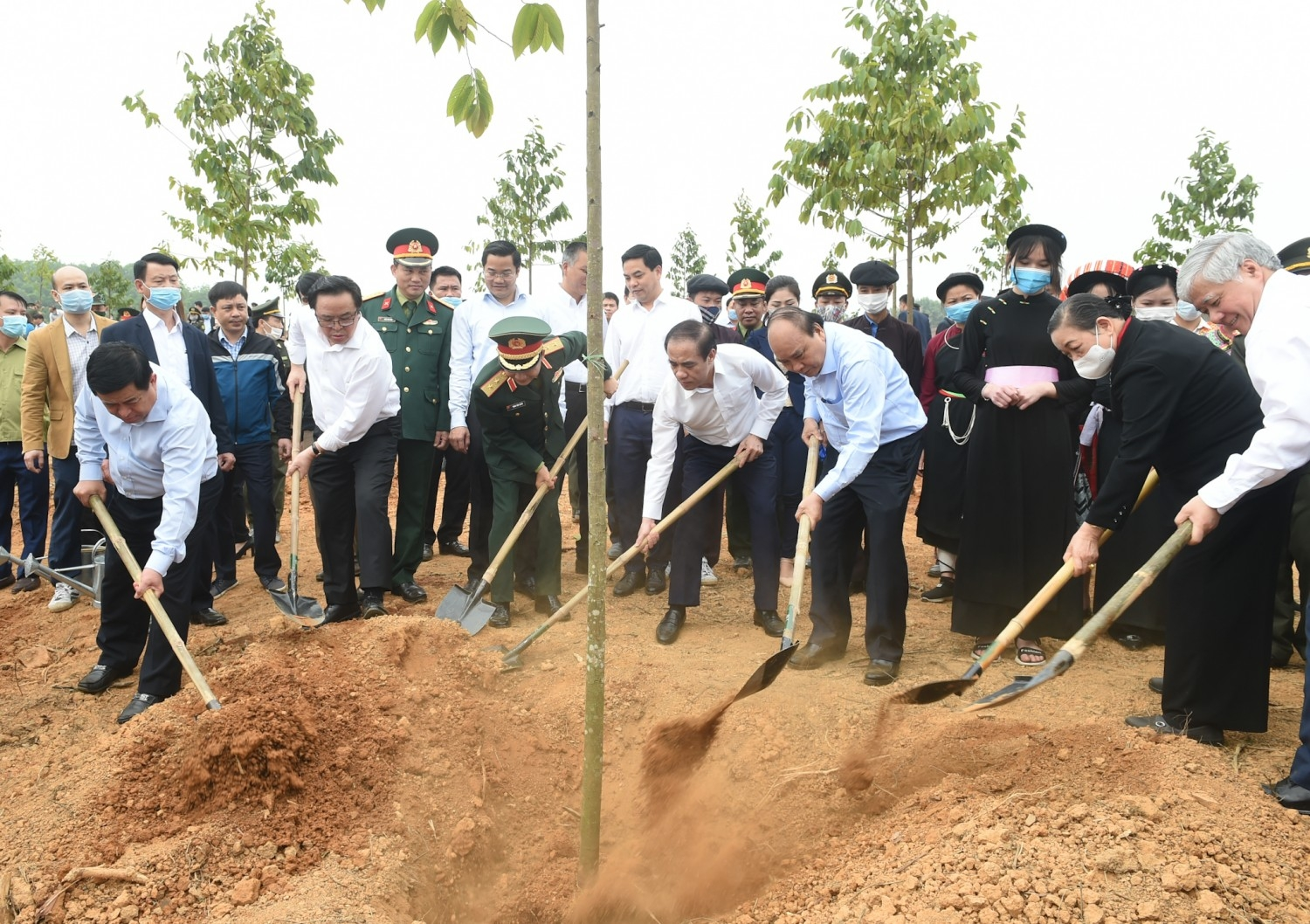 one billion trees to be planted by 2025
