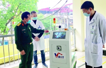 made in vietnam robots on front lines of covid 19 battle
