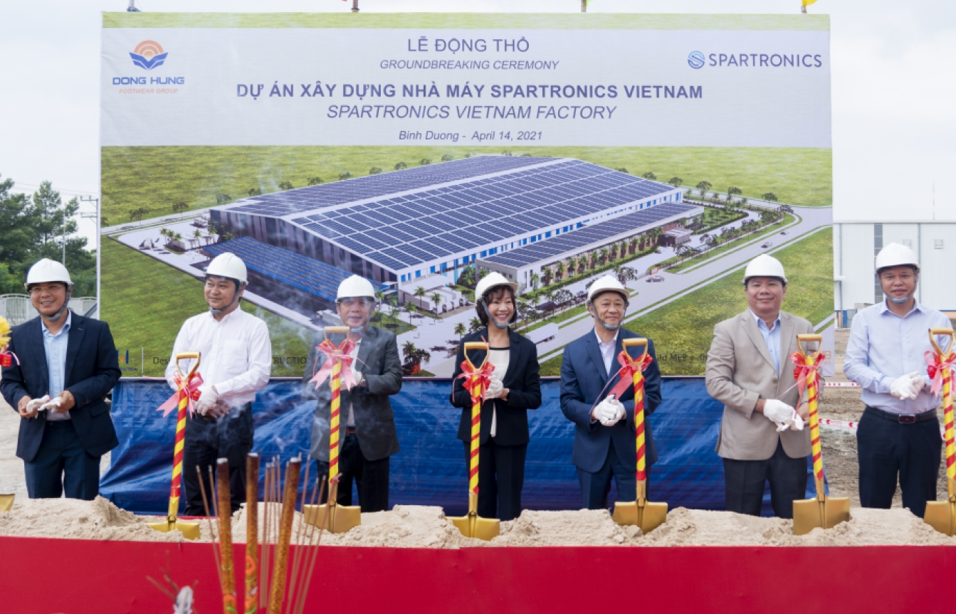 spartronics breaks ground on new manufacturing facility in vietnam