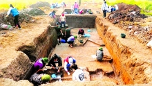 urgently needed preservation of vuon chuoi archaeological site
