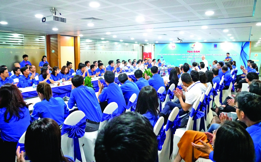 talk encourages the spirit of young oil and gas workers