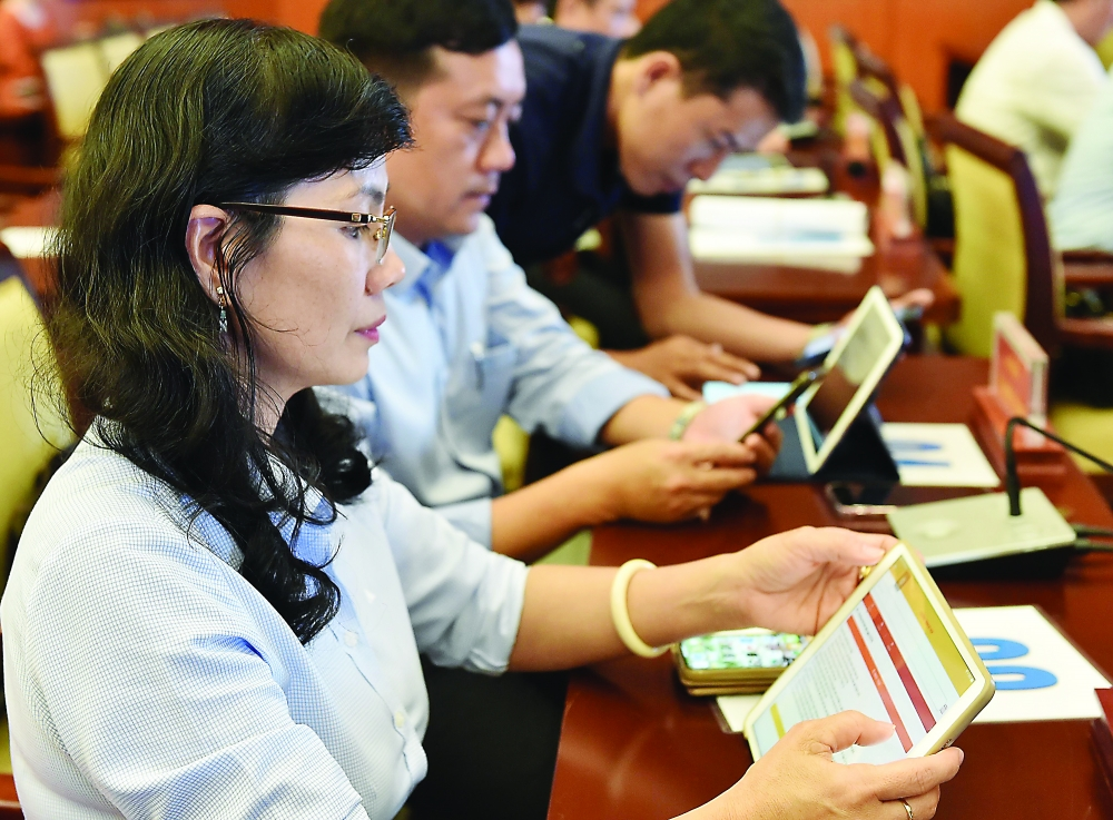 hcmc builds digital government