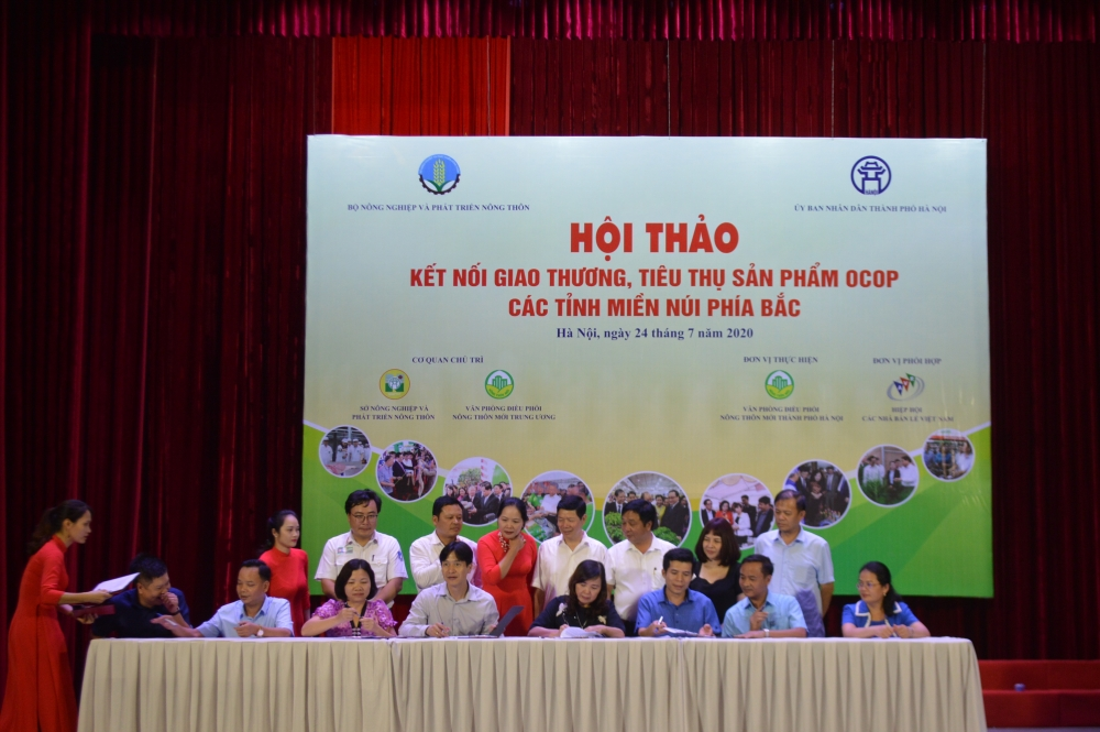 hanoi promotes trade in hundreds of urban rural products