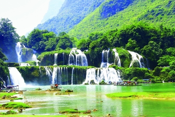 first festival planned for ban gioc border waterfalls