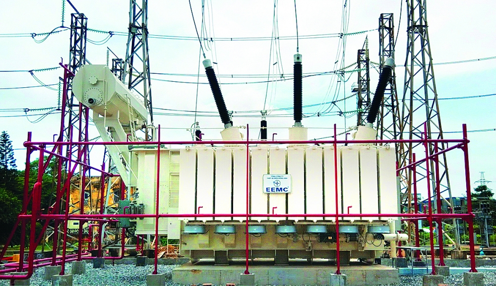evnnpt successful in raising transmission project capital