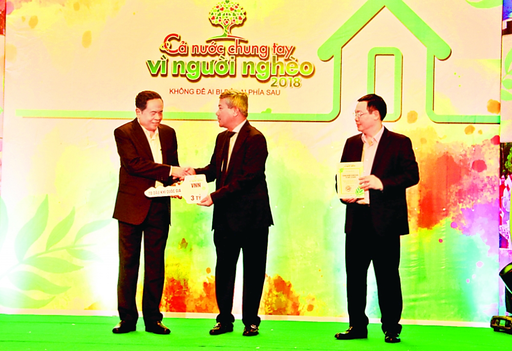 pvn supports over vnd250 billion for the poor