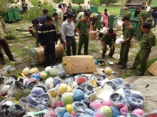 top officials urge tougher crackdown on counterfeit goods