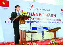 v stainless steel major investor in vietnamese steel sector