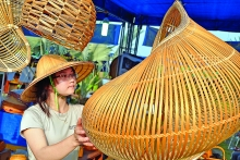 from plate to pillow vietnams imaginative rattan bamboo creations