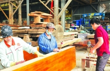 vietnams timber industry growth in difficult period