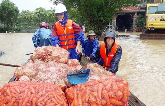 koica gives vnd7 billion in aid to address consequences of natural disasters in quang tri