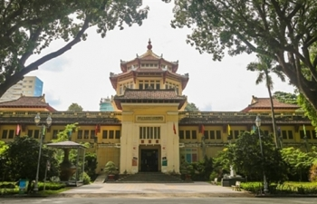 hcm city museum of history offers more than 40000 artifacts