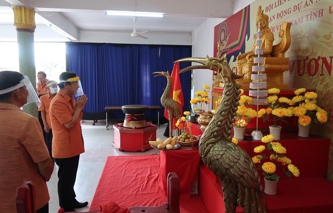 overseas vietnamese in thailand pay tribute to national founders hung kings