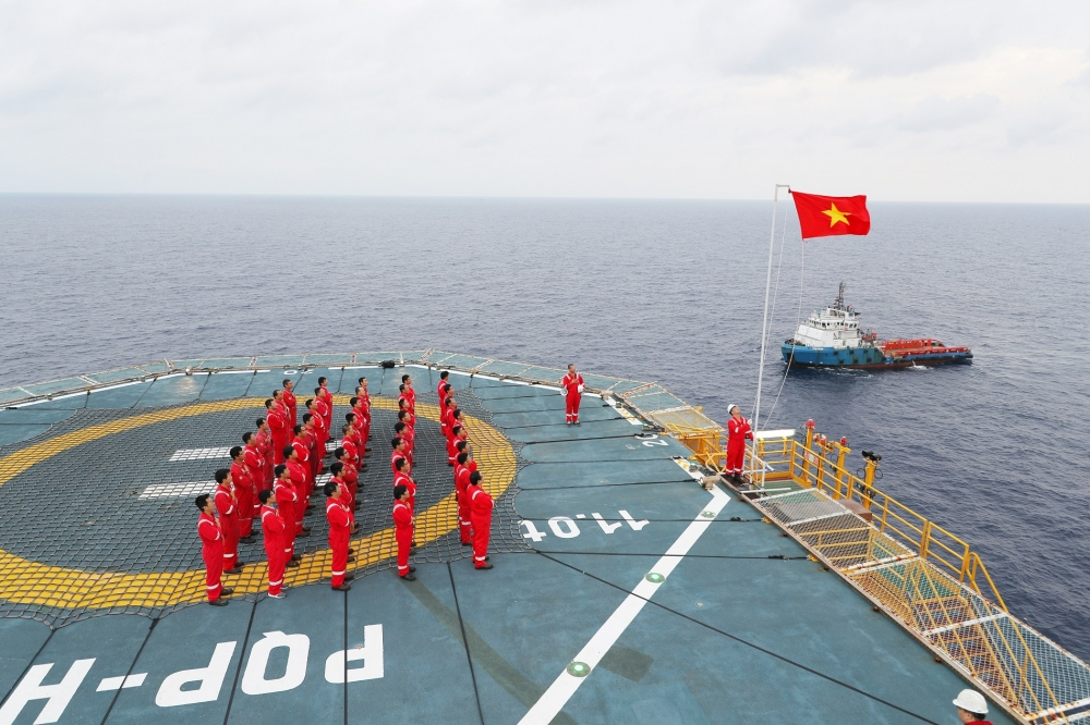 petrovietnam hard hit by pandemic world oil prices but keeps up operations