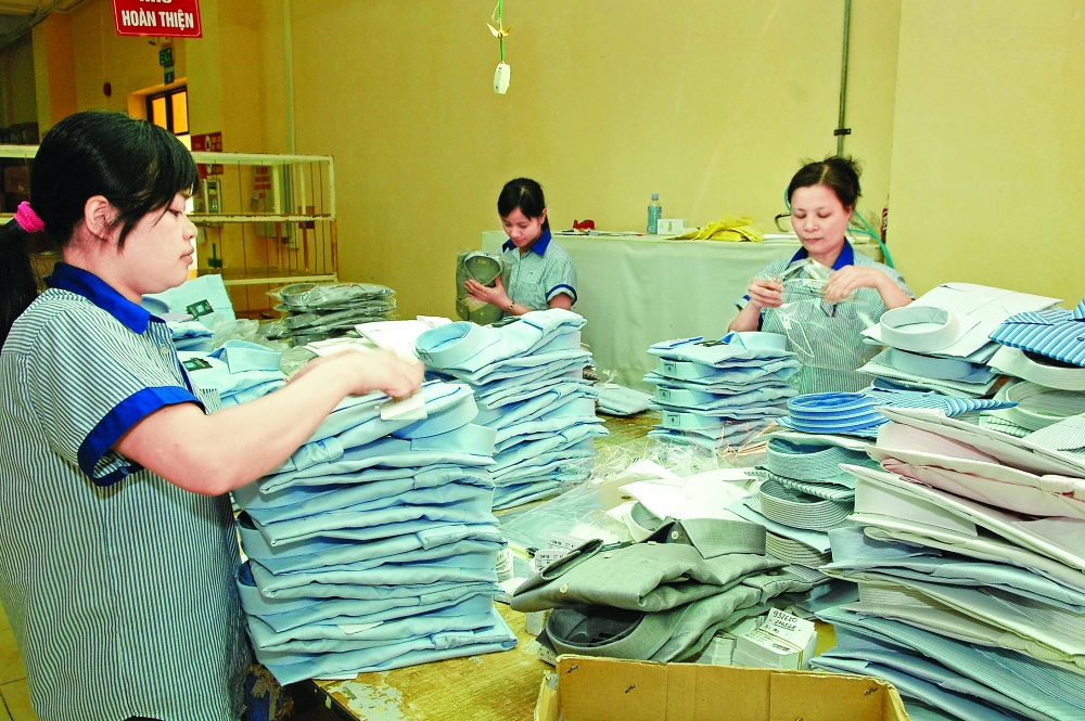 forecast amended for textile garment exports
