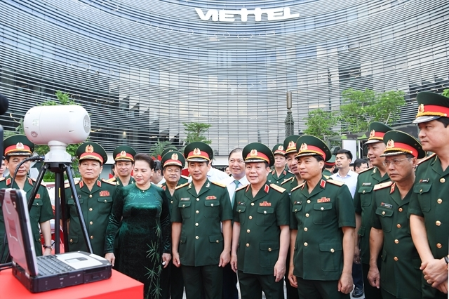 viettel urged to maintain its lead in countrys telecom market