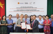 new zealand helps to improve viet nams vocational training