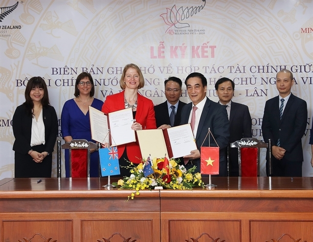 vn and new zealand strengthen financial co operation