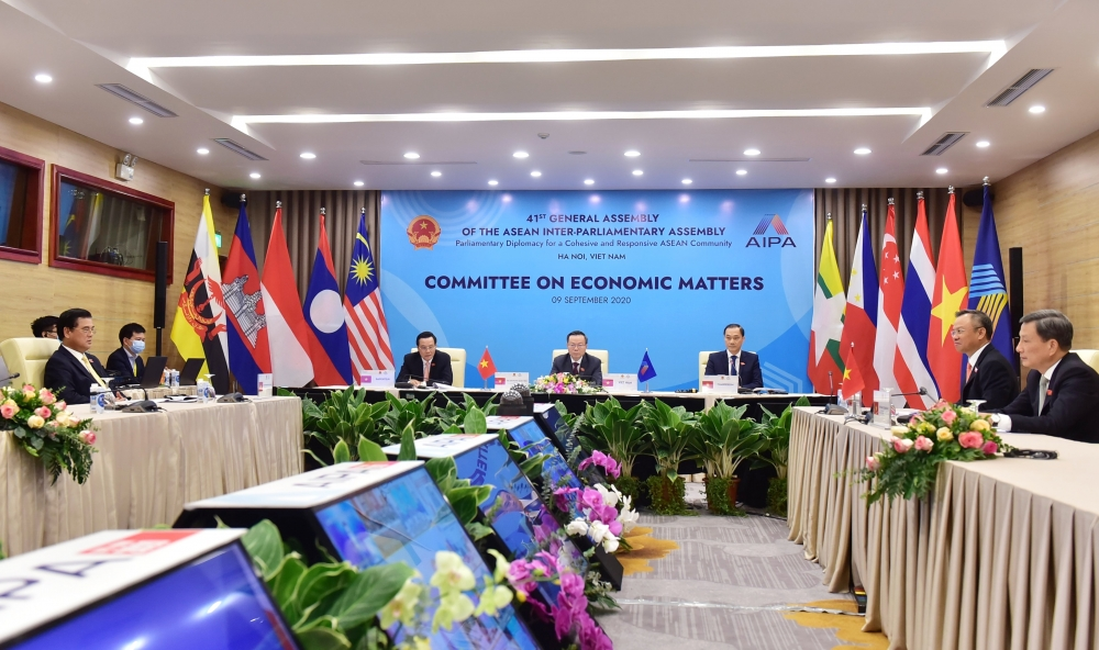 asean parliaments seek paths to post pandemic trade growth