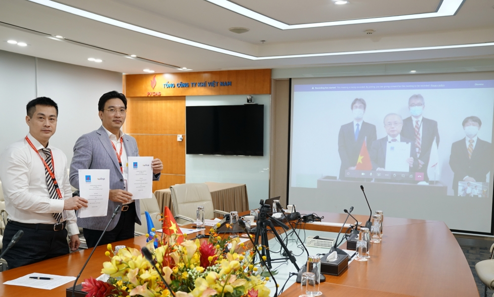 tripartite cooperation on liquefied gas distribution system