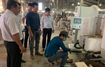 binh duong maps promotes rural industrial development