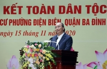 pm attends great national solidarity festival in hanoi