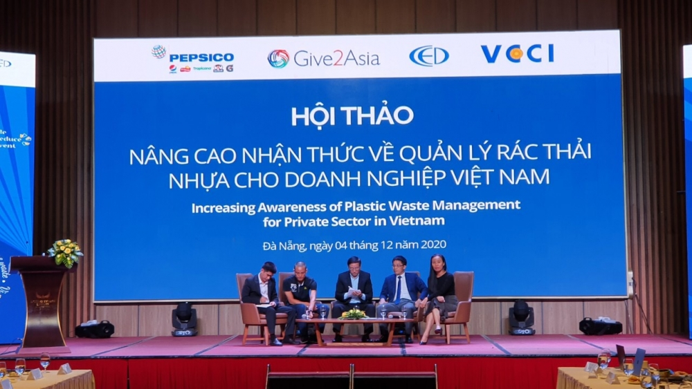 increasing awareness in plastic waste management for private sector in viet nam