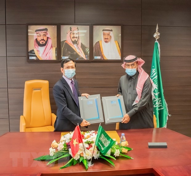vietnam news agency saudi press agency sign mou on cooperation