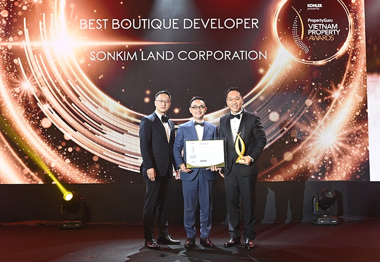 sonkim land got the great success at the vietnam property awards 2020