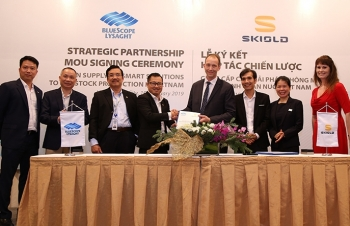 ns bluescope lysaght vietnam partners up with skiold